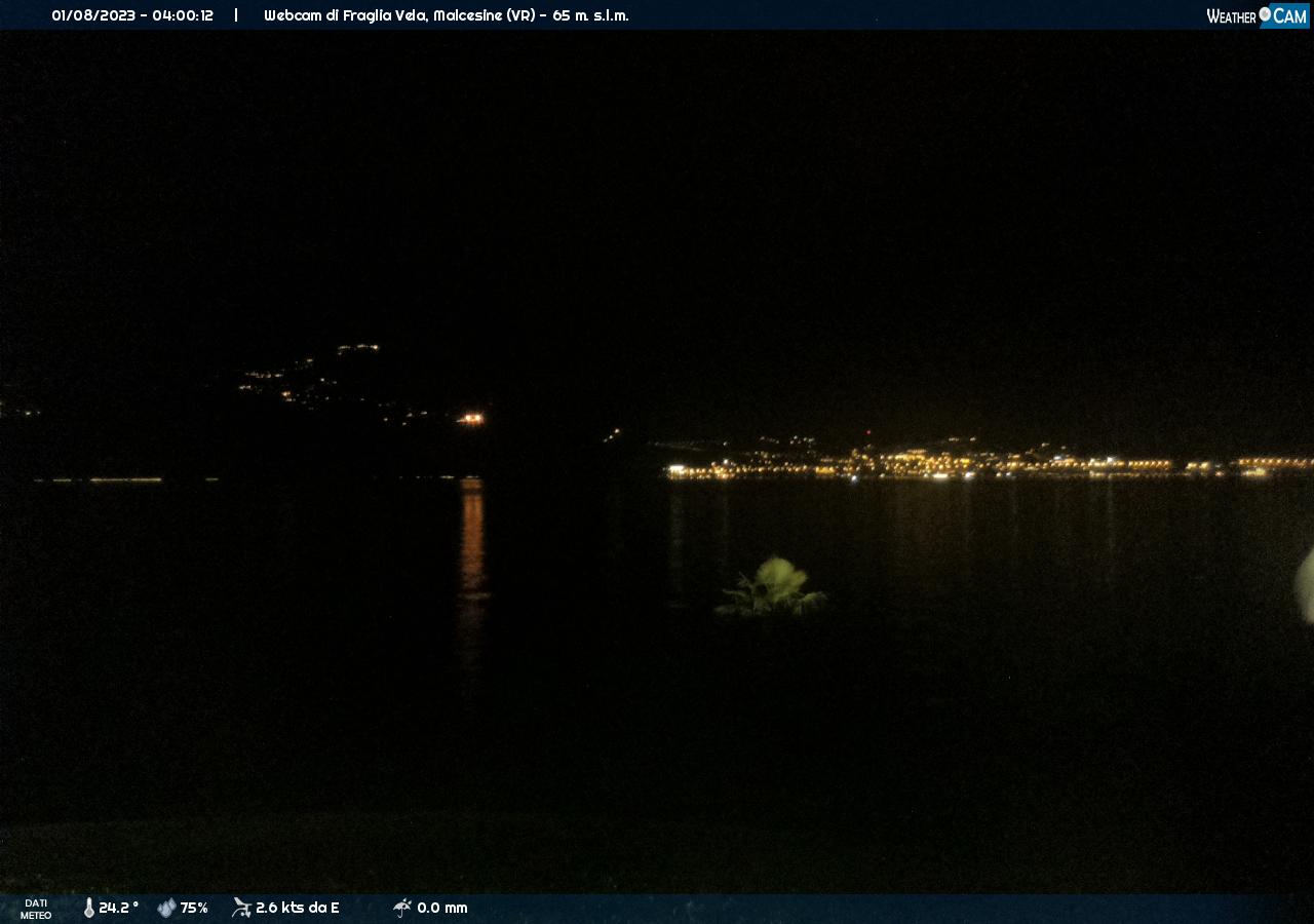 webcam Fraglia Vela, Malcesine (VR)