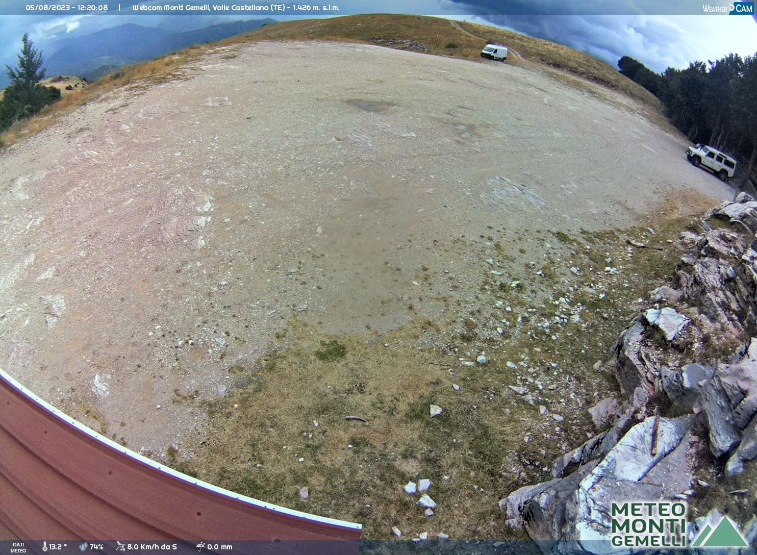 Webcam In diretta Monte Piselli Ascoli Piceno tre caciare