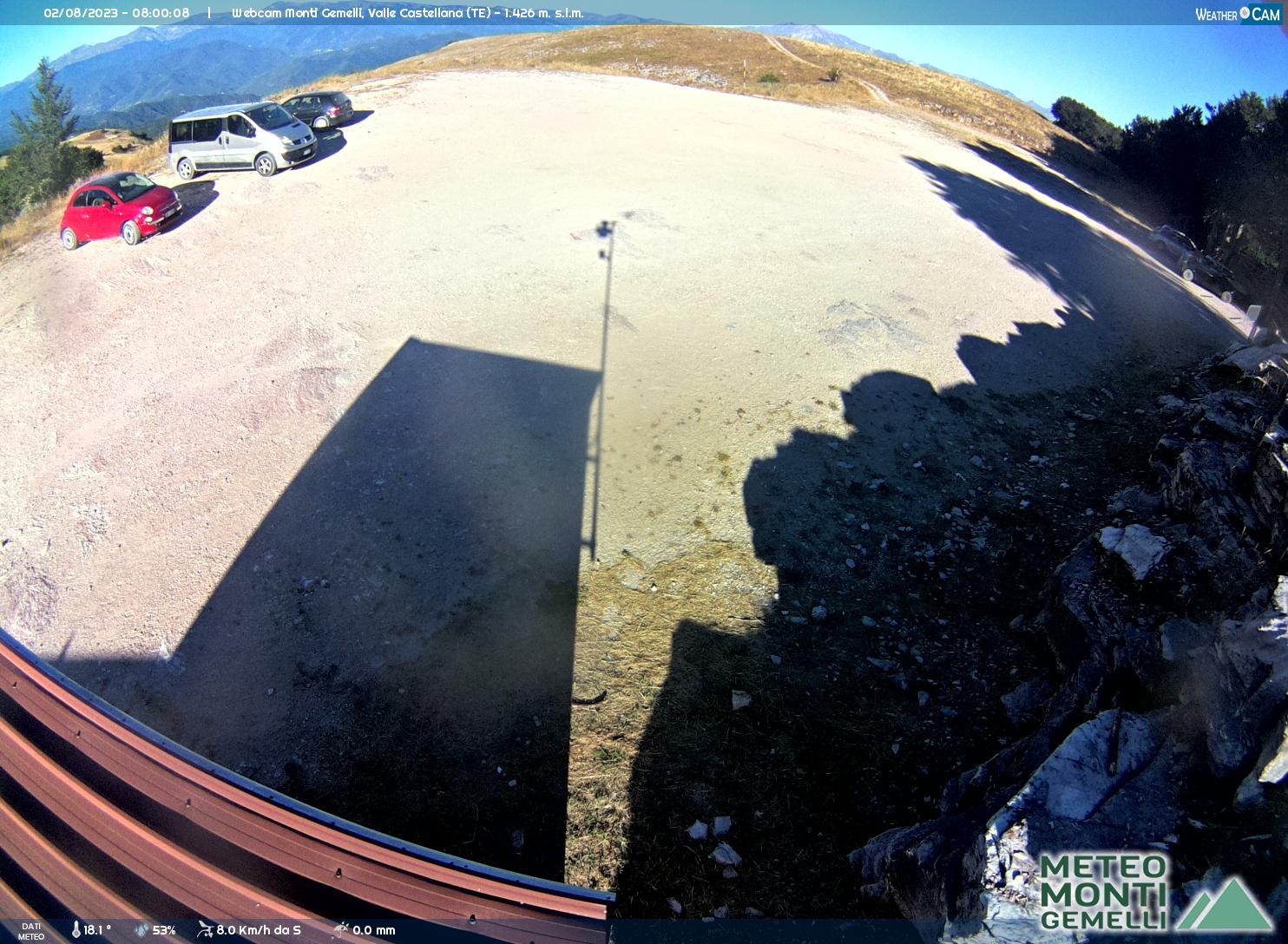 webcam Monti Gemelli (TE)